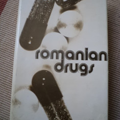 Romanian drugs human and veterinary use medicamente farmacologie medicina carte