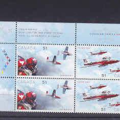 Transport, aviatie sportiva, Canada. - Timbre straine, America de Nord