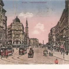 CPI (B2623) AUSTRIA, VIENA, WIEN, PARTERSTRASSE, B.K.W., CIRCULATA 1929, STAMPILE, Europa, Printata