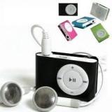 Mp3 player tip ipod shuffle cu casti si cablu usb incluse cadou card de 4GB