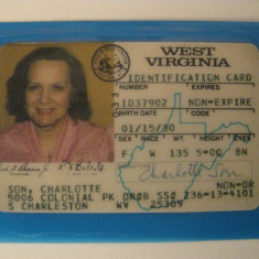 CARTE AMERICANA DE IDENTITATE, America de Nord, Documente