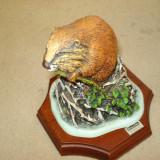 RATON la PRIMA CASA (obiect DECO hand made, serie limitata)