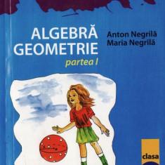 MATE 2000 7/8 - ALGEBRA, GEOMETRIE PARTEA I CLASA A VIII A de ANTON NEGRILA ED. PARALELA 45 - Manual scolar paralela 45, Clasa 5