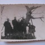 FOTOGRAFIE CU LEGIONARI IN TABARA DE LA BREAZA DIN 1936 - Fotografie veche