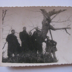 FOTOGRAFIE CU LEGIONARI IN TABARA DE LA BREAZA DIN 1936