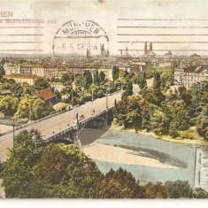 CPI (B2664) GERMANIA. MUNCHEN, CIRCULATA 1916, STAMPILA, Europa, Printata
