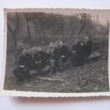 REDUCERE 50%! FOTOGRAFIE CU LEGIONARI IN TABARA DE LA BREAZA DIN 1936 - Fotografie veche