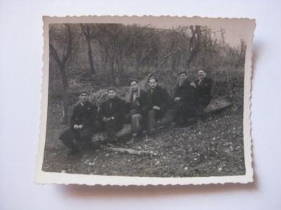 REDUCERE 50%! FOTOGRAFIE CU LEGIONARI IN TABARA DE LA BREAZA DIN 1936 foto