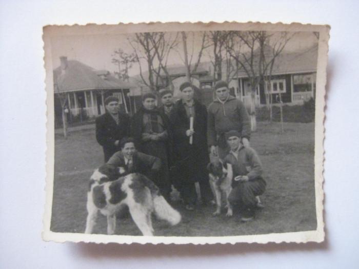 REDUCERE 20 LEI! FOTOGRAFIE CU LEGIONARI IN TABARA DE LA BREAZA DIN 1936 foto mare