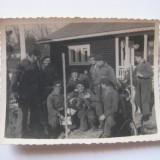 REDUCERE 70%! FOTOGRAFIE CU LEGIONARI IN TABARA DE LA BREAZA DIN 1936 - Fotografie veche
