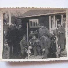 REDUCERE 70%! FOTOGRAFIE CU LEGIONARI IN TABARA DE LA BREAZA DIN 1936