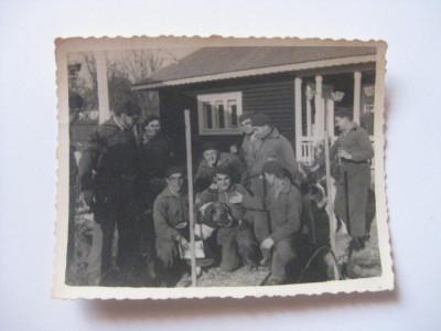 REDUCERE 70%! FOTOGRAFIE CU LEGIONARI IN TABARA DE LA BREAZA DIN 1936 foto