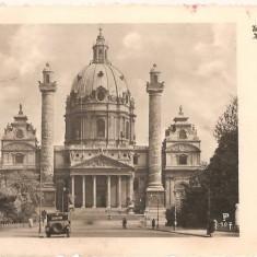 CPI (B2625) AUSTRIA, KARLSKIRCHE, CIRCULATA 1940, STAMPILE, TIMBRU, Europa, Fotografie