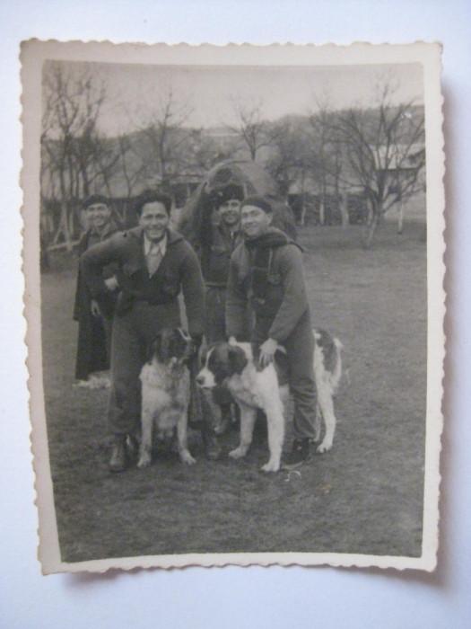 REDUCERE 35 LEI! FOTOGRAFIE CU LEGIONARI IN TABARA DE LA BREAZA DIN 1936 foto mare