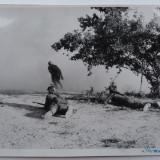 Fotografie ; Atacul Vanatorlori de Munte romani pe frontul Sevastopolului, 1941 - Fotografie veche