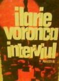 Ilarie Voronca - Interviul