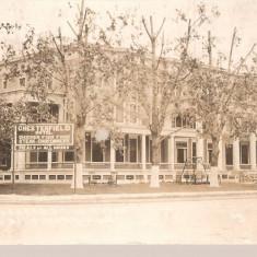 CPI (B2639) STATELE UNITE, USA, AMERICA, NEW BALTIMORE, CHES TERFIELD HOTEL,, CIRCULATA 1925, STAMPILE, TIMBRU, America de Nord, Fotografie