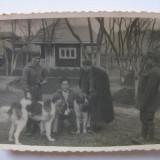 REDUCERE 20 LEI! FOTOGRAFIE CU LEGIONARI IN TABARA DE LA BREAZA DIN 1936 - Fotografie veche