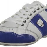 41_Adidasi originali  XTI_adidasi barbati_piele naturala perforata_alb_in cutie