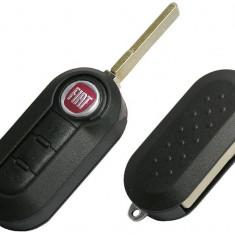 Carcasa Cheie Fiat 500 Briceag 3 butoane