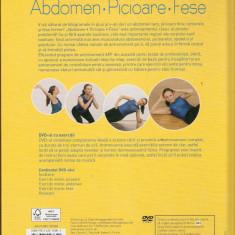 Antrenament eficient de fitness pentru acasa*Abdomen*Picioare*Fese - Carte Dietoterapie