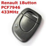 Cheie Cu Telecomanda Renault 1 Buton ( Clio ) 433 Mhz ID46 BRE2380