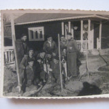 REDUCERE 25%! FOTOGRAFIE CU LEGIONARI IN TABARA DE LA BREAZA DIN 1936 - Fotografie veche