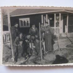 REDUCERE 25%! FOTOGRAFIE CU LEGIONARI IN TABARA DE LA BREAZA DIN 1936