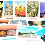 Set de 12 carti postale / vederi necirculate, noi, din Paris - oferta