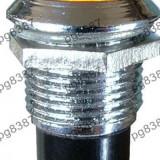 Indicator cu bec, 6, 3V, 13x27mm, galben - 124822
