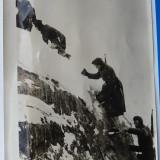 Campania din est ; Soldati germani in Caucaz, 1942 ; foto origin. a propagandei - Fotografie veche
