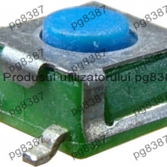 Push buton 5x5mm, inaltime 3mm, SMT - 124208