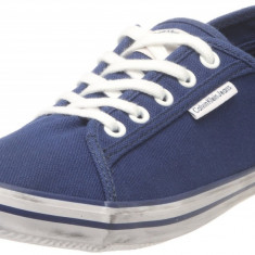 Adidasi originali barbati - tenisi Calvin Klein Jeans - panza - CKJ - cutie -41 - Tenisi barbati Calvin Klein, Culoare: Albastru, Textil