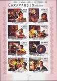 MOZAMBIC 2010 ARTA,PICTURA CARAVAGGIO / MICHEL 4987B-4094 B COTA 25 EURO