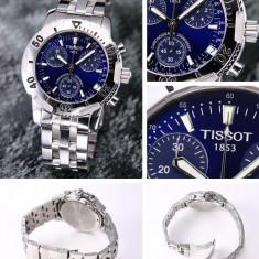 V8 Blue Dial Tissot Ceas T-SPORT T17 1 486 44 - Ceas barbatesc Tissot, Casual, Quartz, Inox, Rezistent la apa