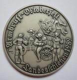 Medalie Oktoberfest 1989 RARA --- PRET REDUS CU 30%, Europa
