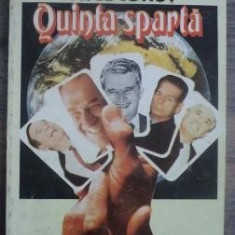 Pavel Corut - Quinta sparta - Roman, Anul publicarii: 1993