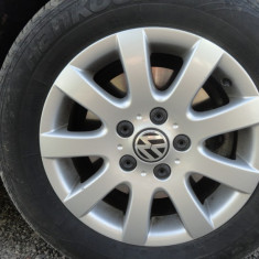 Jante+Anvelope VW Golf V, - Janta aliaj Volkswagen, Diametru: 15