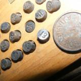Set SIGILII interschimbabile, cifre+litere, cu SIGILII MARI inscris SILOZ PORT BRAILA, SIGILIU cu CUTIE LEMN - Cheie mecanica