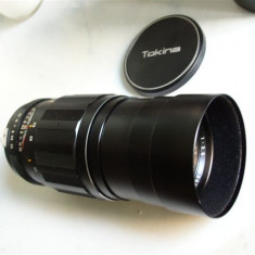 Vand obiectiv TOKINA TELE-AUTO 200mm 1:3-5 - Obiectiv DSLR Tokina, Manual focus, Nikon FX/DX