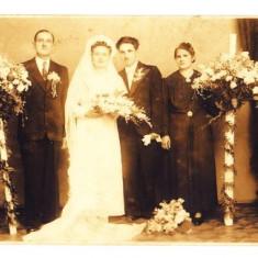 B6. - FOTOGRAFIE VECHE - MODA - ANII 1920 - NUNTA - ROCHIE DE MIREASA - FOTO ROYAL BUZDUGAN BUCURESTI