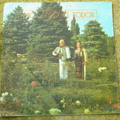 Anica si marcel todor album disc vinyl Muzica Populara electrecord folclor acordeon banat lp, VINIL