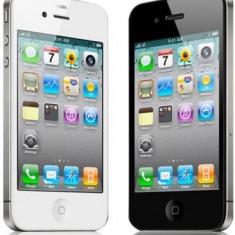 Iphone4 8GB Vodafone Garantie vodafone pana in dec 2013 luni, factura, in perfecta stare, toate accesoriile, folie fata, spate sigilate, 3 huse - iPhone 4 Apple, Negru