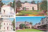 CP circulata  1971,Pitesti,colaj,biserica
