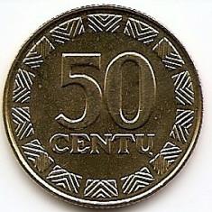 Lituania 50 centu 1999 KM-108 UNC !!!, Europa