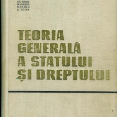 I. Ceterchi ş.a., Teoria generală a statului şi dreptului - Carte Teoria dreptului