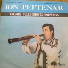 ION PEPTENAR Taragot Muzica Populara electrecord banat folclor disc vinyl lp, VINIL
