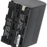 Acumulator Sony NP-F970 6600mAh 100% compatibil DCR-VX2000 VX2100 VX9 HDR-FX1 - Baterie Camera Video