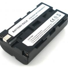 Acumulator Sony NP-F550 F330 F530 F570 2000mAh cu InfoChip 100% compatibil