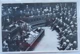 Cumpara ieftin Fotografie originala , Parlamentul Romaniei in sesiune , fotografie originala din timpul razboiului